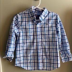 Boys Vineyard Vines Button Down shirt. Size 4